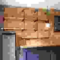 Adeline Labord Interiors Cocinas de estilo ecléctico Piedra Azul