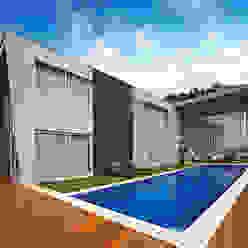 Moderne Pools von Márcia Carvalhaes Arquitetura LTDA. Modern