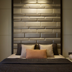 AA Apartment Modern style bedroom by Atelier Design N Domain Modern