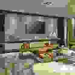 Decora Lider Rio de Janeiro - Sala de TV: Salas de estar  por Lider Interiores,Moderno