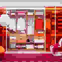 Elfa Deutschland GmbH VestidoresPlacares y cómodas Compuestos de madera y plástico Naranja