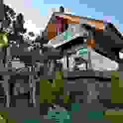 Банный дом Pavelchik Design Дома в эклектичном стиле