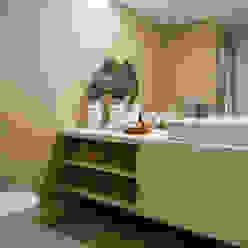 Andar Modelo - Oeiras Casas de banho modernas por Traço Magenta - Design de Interiores Moderno