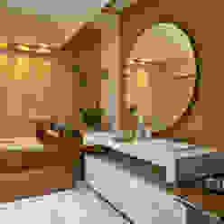 Isabela Canaan Arquitetos e Associados Casas de banho modernas