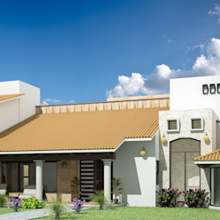 Casa FNP-15 Jeost Arquitectura Casas rústicas