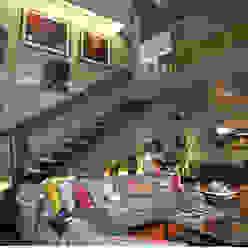 Loft Sustentável - Ambiente CASA COR SC 2015 Corredores, halls e escadas modernos por Spengler Decor Moderno