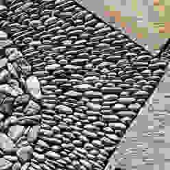VILLA 2 - GRIMAUD - Pierre naturelle PASSAGE CITRON Murs & Sols méditerranéens