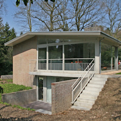 Casas de estilo moderno de Van de Looi en Jacobs Architecten Moderno