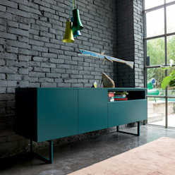 'Fashion' free-standing sideboard by Dall'Agnese de My Italian Living Moderno Tablero DM
