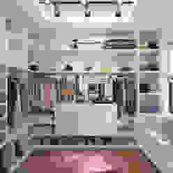 Minimalist dressing room by Giovani Design Studio Minimalist