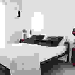 Śródziemnomorska sypialnia od Ossigeno Architettura Śródziemnomorski