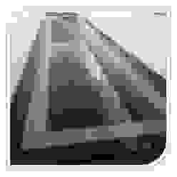 Revestimento de piso em Granito BELGRAN, LDA Corredores, halls e escadas modernos