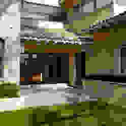 Casa Mimosas- Boué Arquitectos Casas rústicas de Boué Arquitectos Rústico