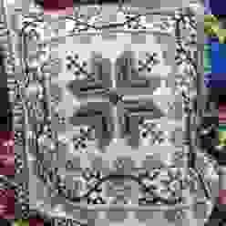 Cojines decorativos hechos de lana Maria Juana Art DormitoriosAccesorios y decoración Lana Multicolor