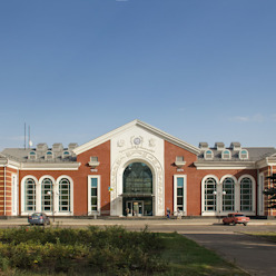main facade Classic airports by VALENTIROV&PARTNERS Classic