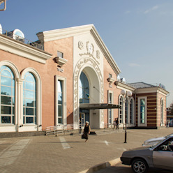 main entrance Classic airports by VALENTIROV&PARTNERS Classic