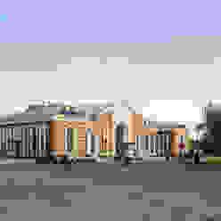 Kramatorsk station redevelopment Classic airports by VALENTIROV&PARTNERS Classic