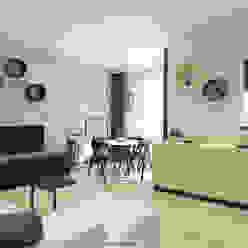 Sala da pranzo in stile scandinavo di And Interior Design Scandinavo