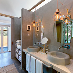 Country style bathroom by SegmentoPonto4 Country