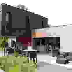 facade est et nord Atelier d'Architecture Marc Lafagne, architecte dplg Maisons modernes