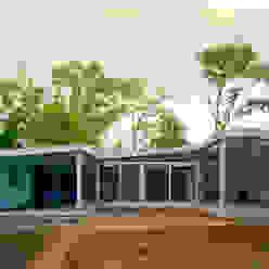Casas de estilo moderno de JMW architecten Moderno Vidrio