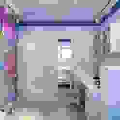 Современная детская Цунёв_Дизайн. Студия интерьерных решений. Детская комната в стиле лофт