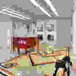 VL Arquitetura e Interiores Коридор, прихожая и лестница в классическом стиле