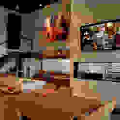 Projeto Arq. Maria Rejane Schneider BRAESCHER FOTOGRAFIA Salas de jantar rústicas