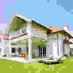 WUNSCHHAUS Casas de estilo mediterráneo