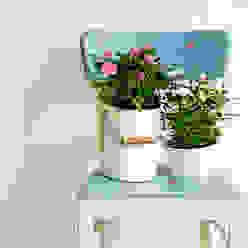 Różane Krzesło od Treefabric Rustykalny