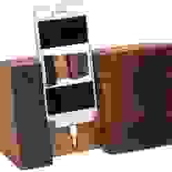 STOJAK NA IPHONA Z DĘBOWEJ BECZKI od Altavola Design Sp. z o.o. Rustykalny Drewno O efekcie drewna