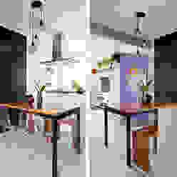 INÁ Arquitetura Cocinas de estilo ecléctico