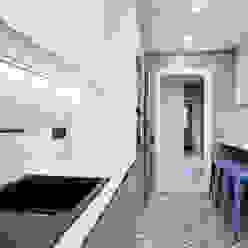 Hogar familiar en Badalona Dröm Living Cocinas de estilo clásico