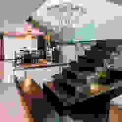 Escalera aaestudio Pasillos, vestíbulos y escaleras modernos