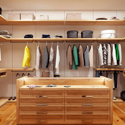 WHITE TREE wardrobe Гардеробная в скандинавском стиле от Artichok Design Скандинавский