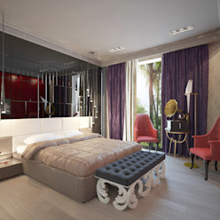 Eclectic style bedroom by Decor&Design Eclectic