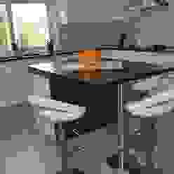 Ilha Ansidecor CozinhaBancadas Quartzo Branco