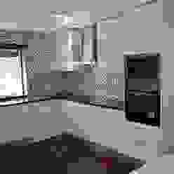 Cozinha Ansidecor CozinhaArmários e estantes Quartzo Branco
