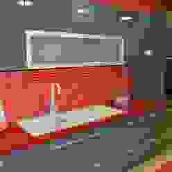 Cozinha Ansidecor CozinhaBancadas Quartzo Vermelho