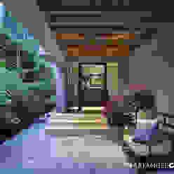Vestíbulo MARIANGEL COGHLAN Pasillos, vestíbulos y escaleras modernos Multicolor