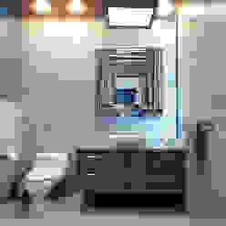 Minimal style Bathroom by arketipo-taller de arquitectura Minimalist