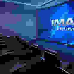 Домашний кинотеатр, кинозал - Умный дом. Первая Мультимедийная компания Медиа комната в классическом стиле