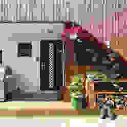 별채 계단 하부 진입공간 모던스타일 주택 by 주택설계전문 디자인그룹 홈스타일토토 모던