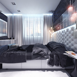 Industrial style bedroom by Your royal design Industrial