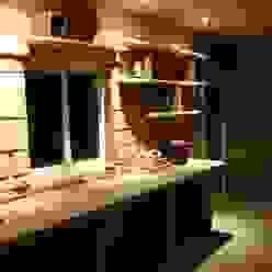 Cocina rústica decorada con Decopierre LuisyAnacb Bodegas de estilo rústico Caliza Beige