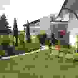 modern grass garden Planungsbüro STEFAN LAPORT 庭院