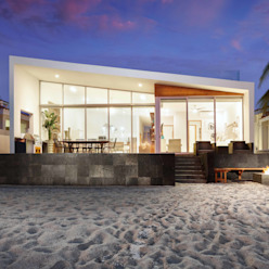 โดย Imativa Arquitectos โมเดิร์น หิน