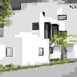 Fachada Norte CÉRVOL Casas de estilo minimalista