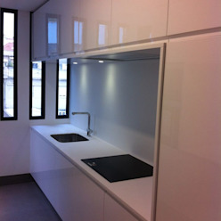 Cozinhas por medida 2 Ansidecor Cozinhas minimalistas Branco
