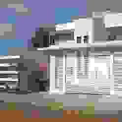Projeto Casas modernas por Ricardo Galego - Arquitetura e Engenharia Moderno